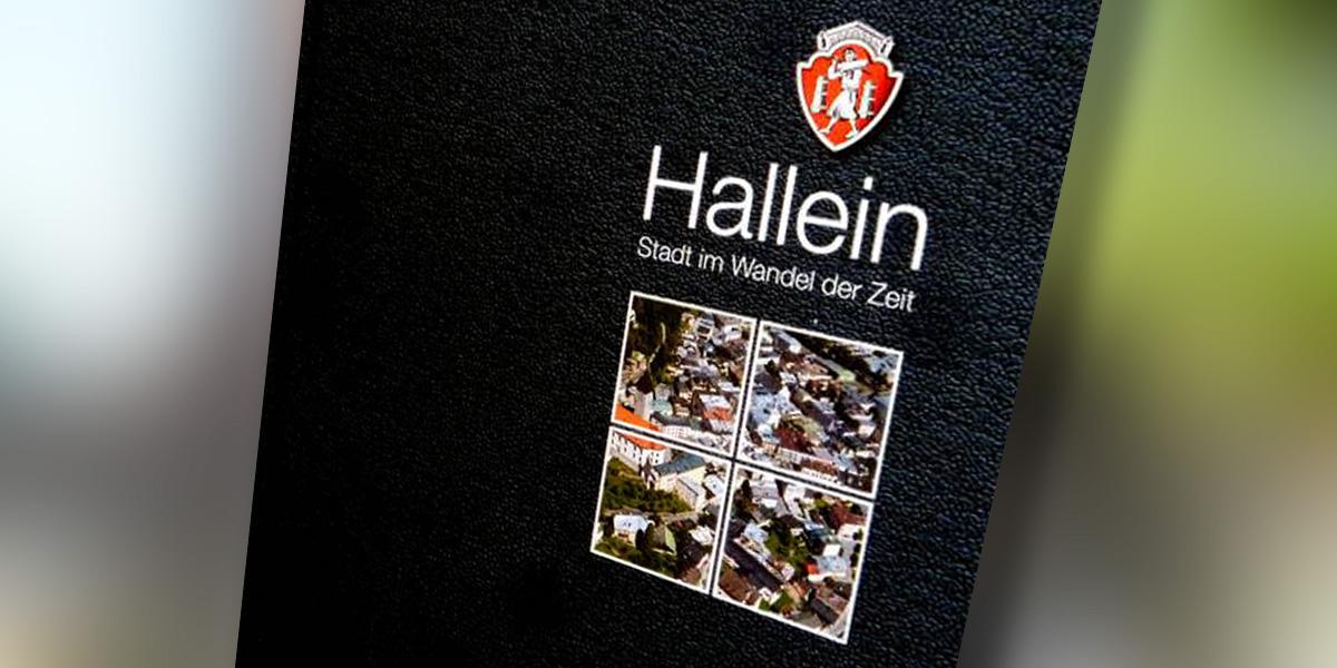 Buch zur jüngeren StadtgeschichteHalleins