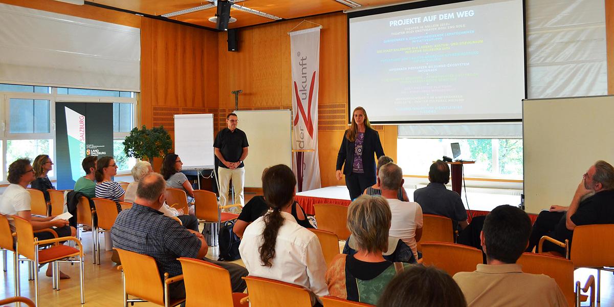 Ein Möglichkeitsraum für zukunftsweisende Ideen – Tage der ZukunftSalzburg